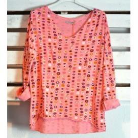 HEME DRESSING A19058-2 Camiseta Coral