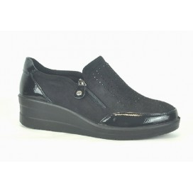 AMARPIES AJH18804 Zapato Negro