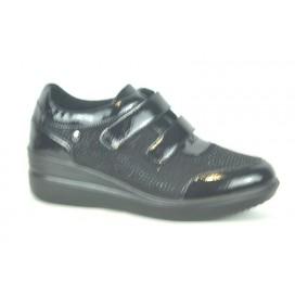 AMARPIES AST18847 Zapato Negro