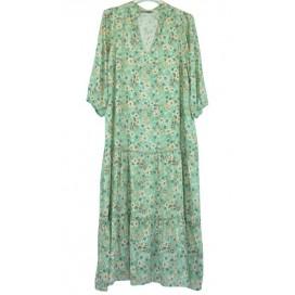 HEME DRESSING 3313 Vestido Verde Agua