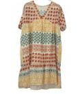 HEME DRESSING 3401 Vestido Teja