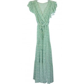 HEME DRESSING 11605 Vestido Verde Agua