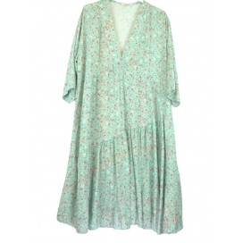 HEME DRESSING 3316 Vestido Verde Agua