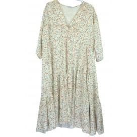 HEME DRESSING 3316 Vestido Beige