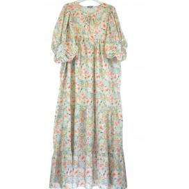 HEME DRESSING 3465 Vestido Verde Agua