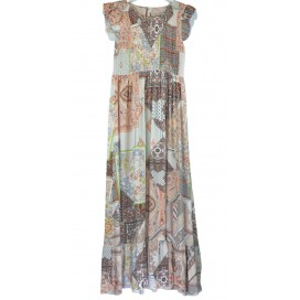 HEME DRESSING 11662 Vestido Beige