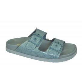 CORINA CHIPRE-154 Sandalia Azul claro