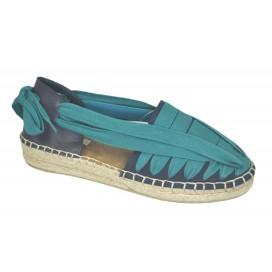 CORINA CHIPRE-154 Sandalia Azul