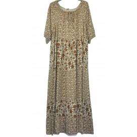 HEME DRESSING 11793 Vestido Marrón