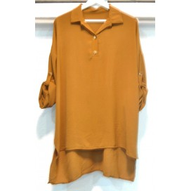HEME DRESSING T227 Vestido CAMEL