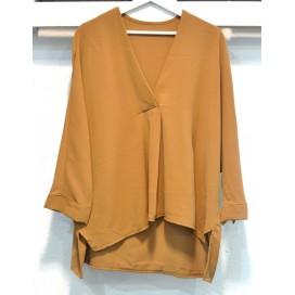 HEME DRESSING T80738 Blusa CAMEL